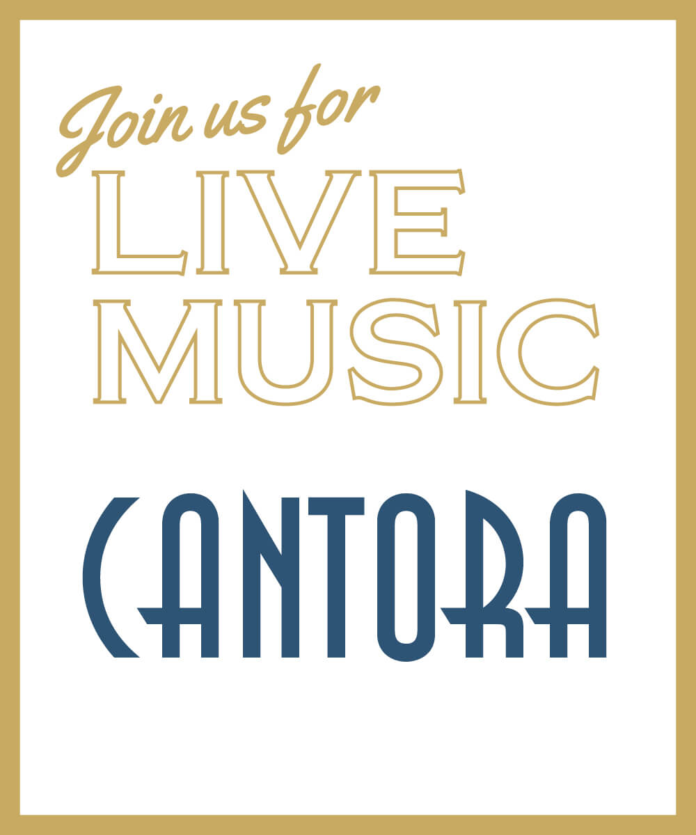 Join us for live music from Cantora, Hornby Club