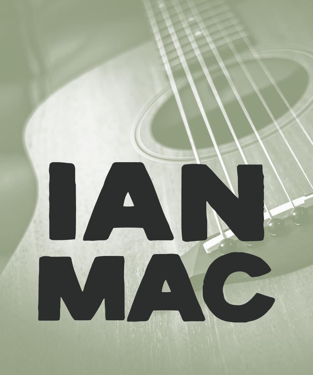 Live Music from Ian Mac